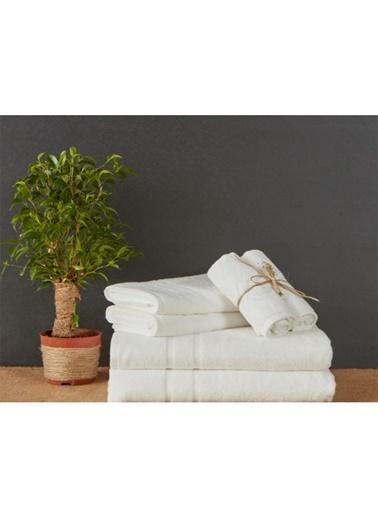 Hibboux 90x150 Vogue Banyo Havlusu White Alyssum Beyaz